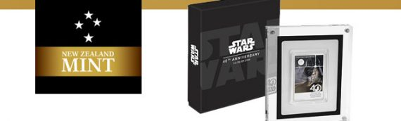 NZ Mint : Star Wars 40th Anniversary 1oz Silver Coin