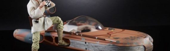 HASBRO – Luke Skywalker & Landspeeder The Black Serie 6 inch