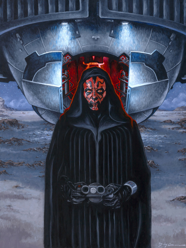 art of star wars doug cowan dark maul