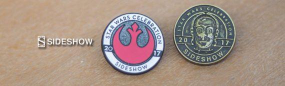 Star Wars Celebration – Des Pins chez Sideshow Collectibles