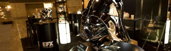 eFX Collectibles – Darth Vader Chrome Helmet SDCC Exclusive