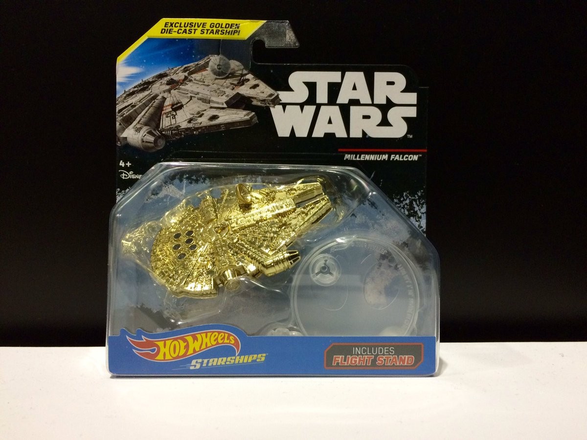 Hotwheels Gold Starship