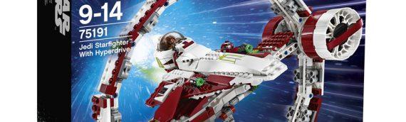 LEGO – 75191 Jedi Starfighter et anneau d'Hyperdrive