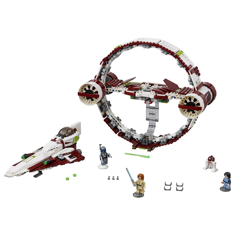 LEGO jedi starfighter hyperdrive