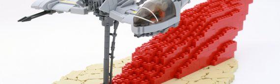 LEGO – Custom The Last Jedi Speeder