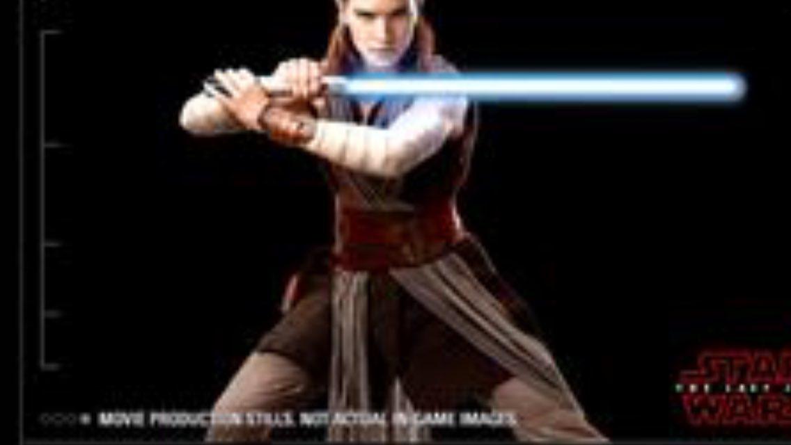 Rey The Last Jedi Star Wars