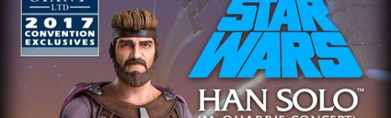 Gentle Giant – Han Solo (Ralph McQuarrie) Mini Bust Convention Exclusive