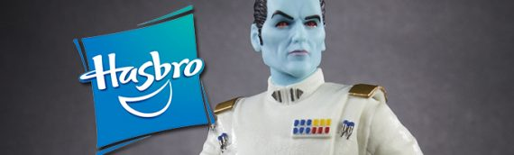 HASBRO – Grand Admiral Thrawn TBS 6 inch SDCC Exclusive