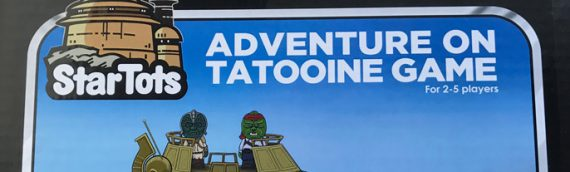 Star Tots ADVENTURE ON TATOOINE GAME