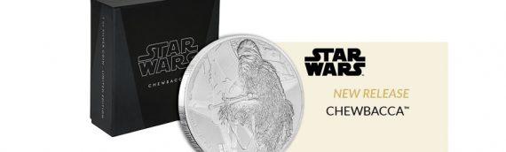 NZ Mint : Star Wars Classic Chewbacca Coin