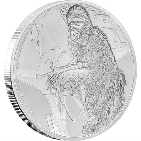 New Zealand Mint Star Wars Classic Chewbacca Coin