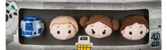 Tsum-Tsum Star Wars 40th Anniversary Exclu Disney Store