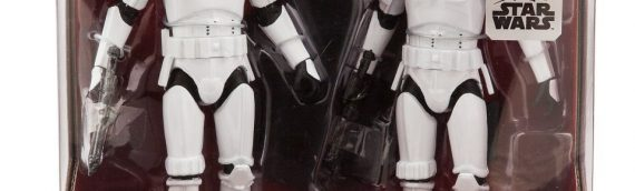 Disney Store – Han Solo & Luke Skywalker as Stormtrooper Elite Series