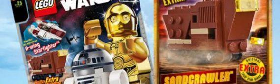 Lego Star Wars Magazine de juillet