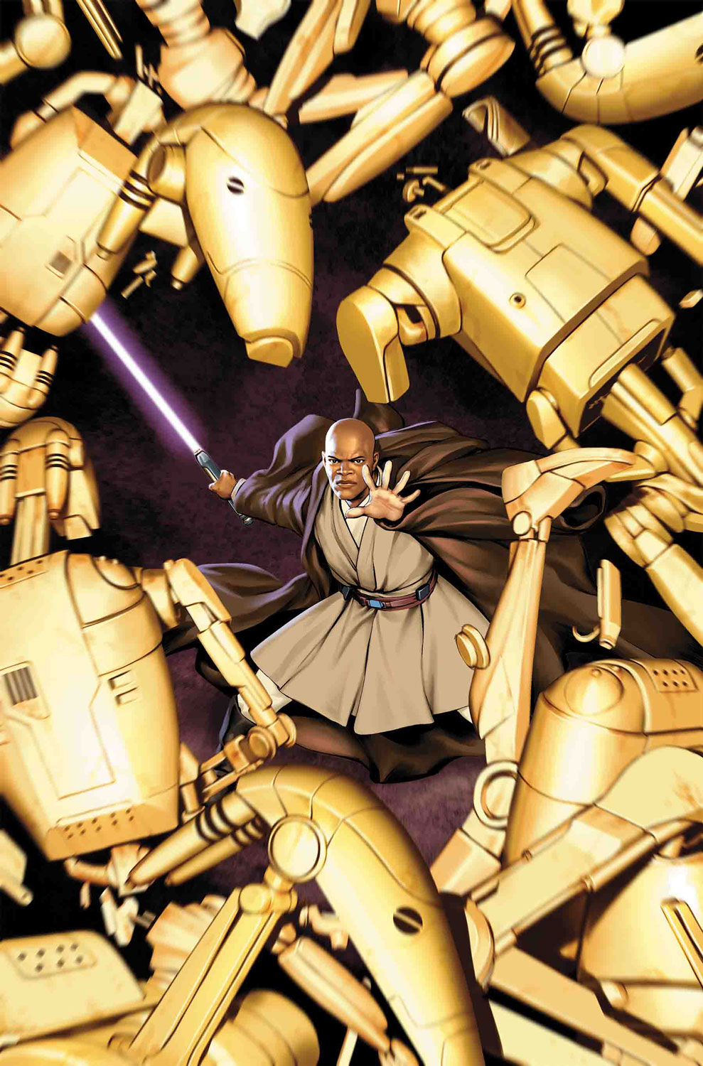Marvel Mace Windu Jedi of the republic