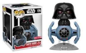 Dark Vador avec Tie Fighter