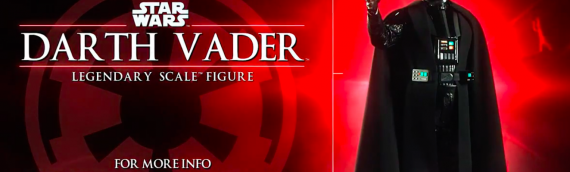 Sideshow Collectibles – Darth Vader Legendary Scale Figure