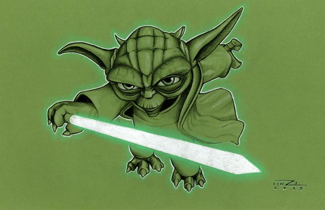 Art of Star Wars Lin Zy