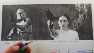 Art of Star Wars Robert Bailey