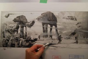 Art of Star Wars Robert Bailey
