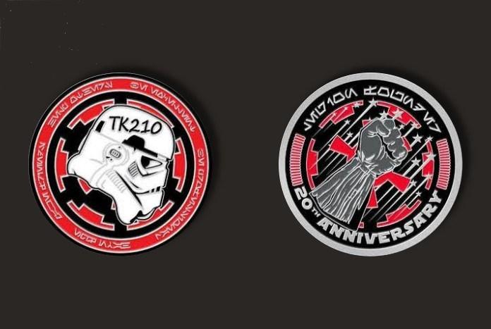 501st coin 20th anniversary