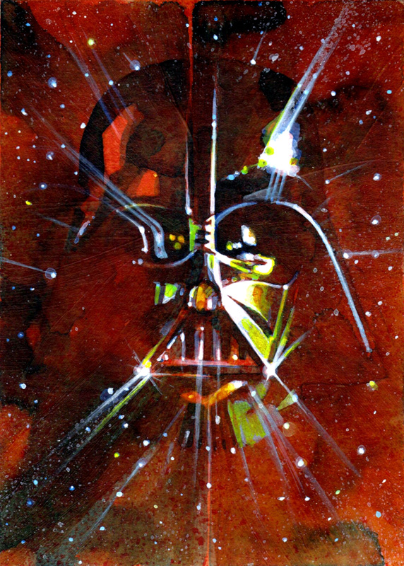 Art of Star Wars Mark McHaley
