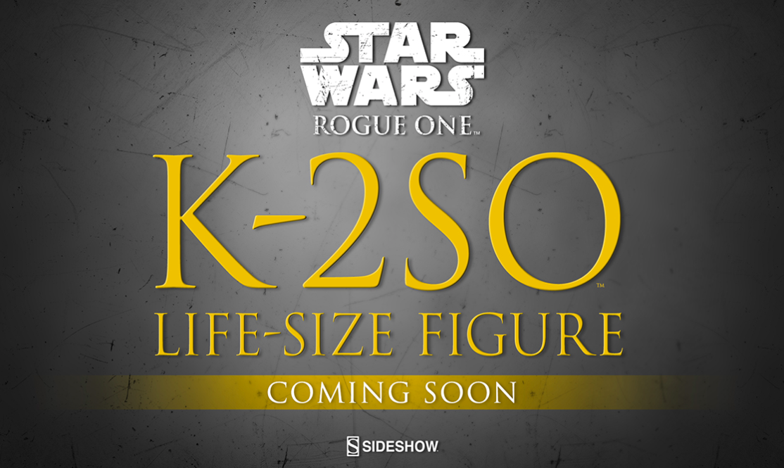 Sideshow Collectibles K-2SO Life Size