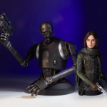 Gentle Giant K-2SO Holiday Mini Buste