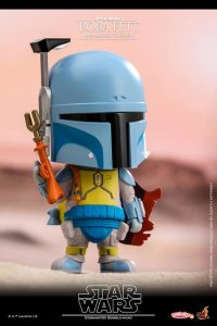 Hot Toys Cosbaby Boba Fett Holiday Special
