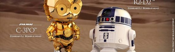 Hot Toys : Cosbaby R2-D2 & C-3PO Large version