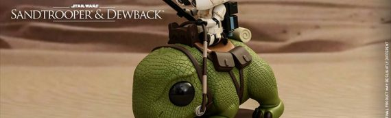 Hot Toys – Cosbaby Sandtrooper on Dewback