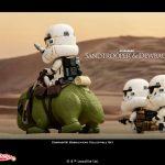 Hot Toys Sandtrooper Dewback Cosbaby