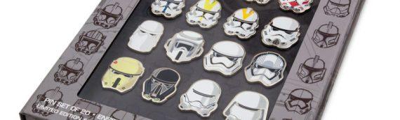 Disney – Star Wars Trooper Pins set Exclu D23