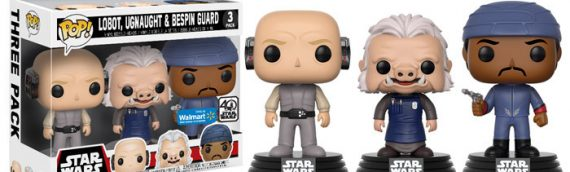 Funko – POP Star Wars 3-packs en exclu chez Walmart