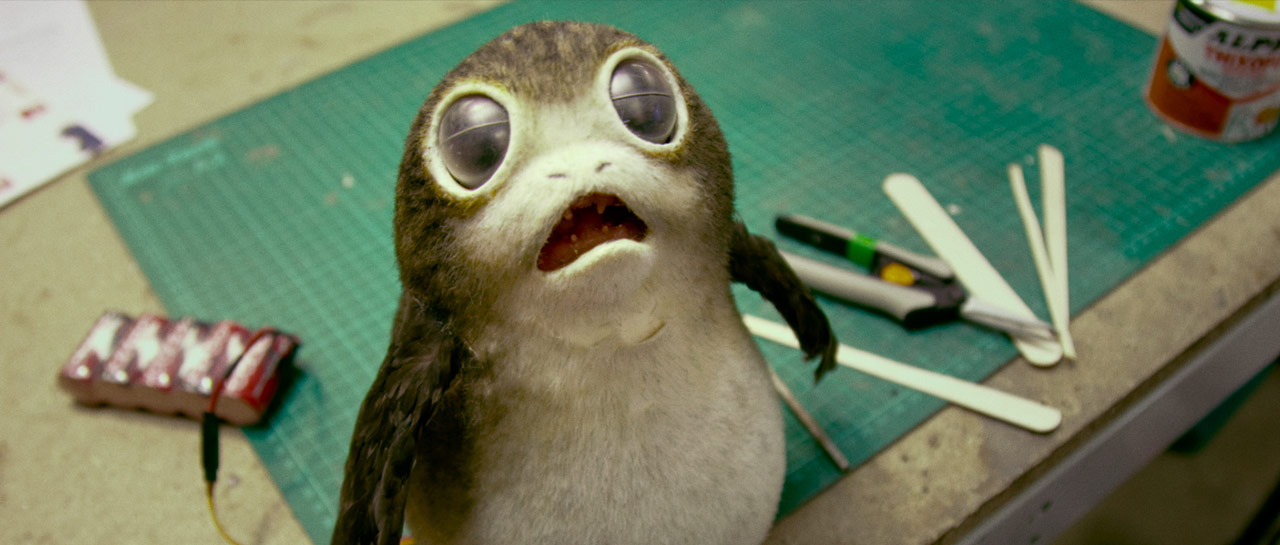 The Last Jedi Porgs peluche