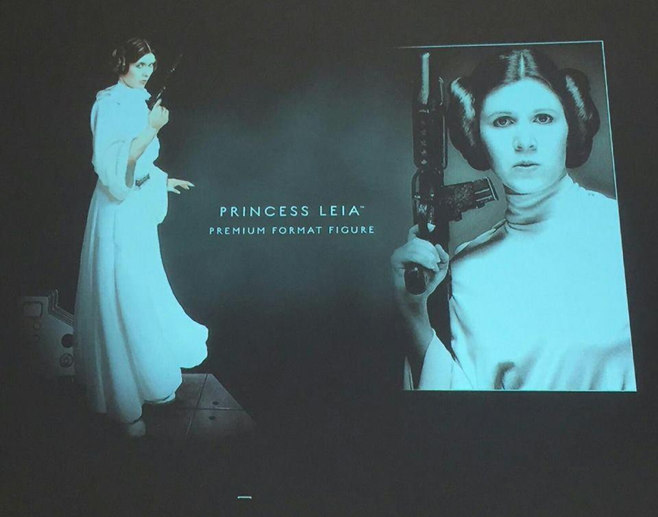 Sideshow Leia ANH Prototype
