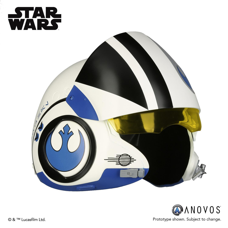 Anovos Poe Dameron Blue Squadron Helmet