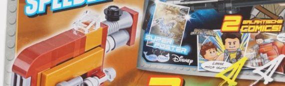 LEGO Magazine – Le speeder de Rey en septembre