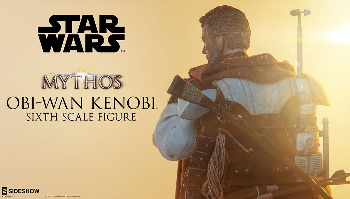 Sideshow Collectibles Mythos Obi-Wan Kenobi Sixth Scale Figure
