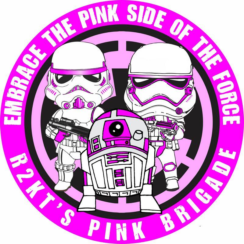 R2-KT patch Pink brigade
