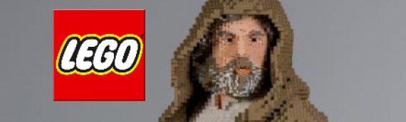 LEGO – Luke Skywalker The Last Jedi en Life Size