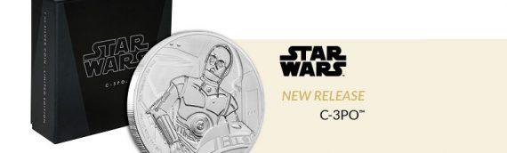 NZ Mint : Deux nouvelles pièces de monnaie Star Wars