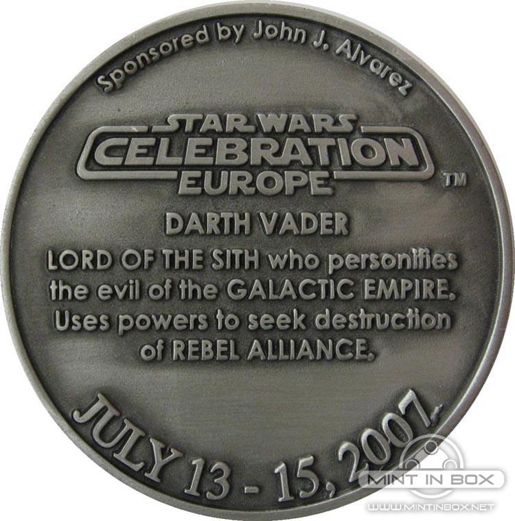 Star Wars Celebration Europe Medallion