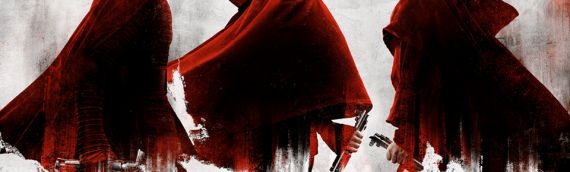 Star Wars The Last Jedi – Nouvelle version des Characters Posters