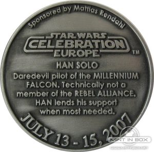 Star Wars Celebration Europe Medallion