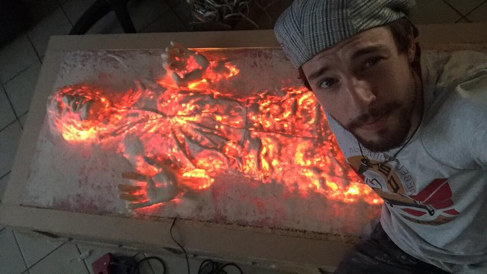 Han Solo Carbonite Light Up