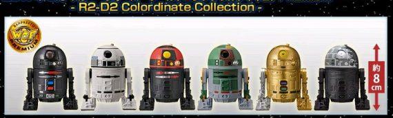 BANPRESTO – R2-D2 Colordinate Collection