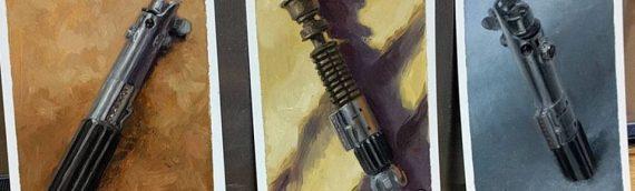 Drew Baker – Lightsabers artwork
