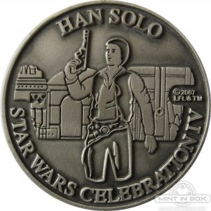 Star Wars Celebration 4 Medallion