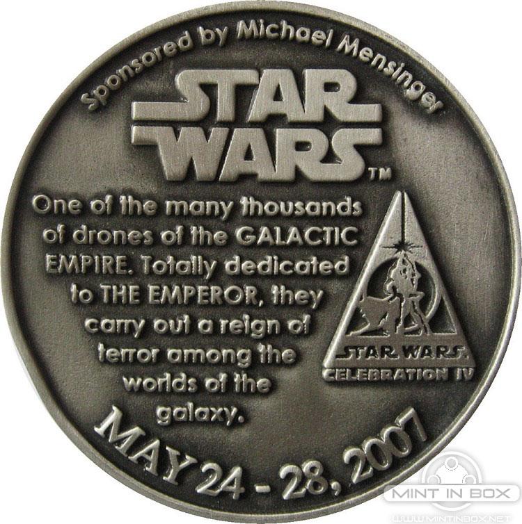 Star Wars Celebration 4 Medallion
